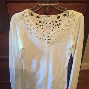 Free People Long Sleeve Top Small